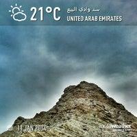 Photo taken at Wadi Al Bieh by Fariha O. on 1/11/2014
