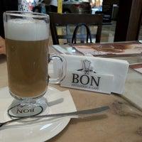 Photo taken at Bon Pâtisserie & Café by Fariha O. on 6/28/2014