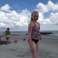 Photo taken at Hunting Island Beach by Kara W. on 7/20/2013
