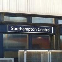 Photo taken at Southampton Central Railway Station (SOU) by Phil A. on 12/12/2012