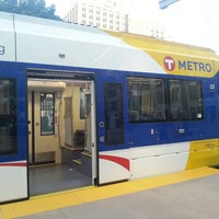 Photo taken at East Bank LRT Station by SHAWN H. on 7/4/2014