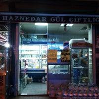 Photo taken at Haznedar gül çiftliği süt mamulleri by Kemal A. on 5/30/2014