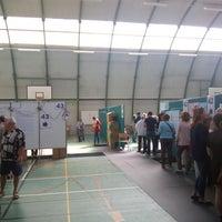 Photo taken at Bureau de vote 41-42-43 by Oliver C. on 5/25/2014