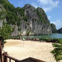 Photo taken at Nam Cat Beach Resort by Bang G. on 11/2/2014