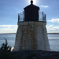 Photo taken at Castle Hill Lighthouse by Bang G. on 7/30/2017