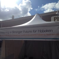 Photo taken at Hoboken Music And Arts Festival by Kirsten on 9/29/2013