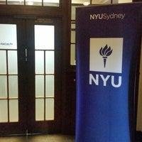 Photo taken at NYU Sydney by Reginald S. on 3/15/2018
