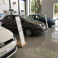 Photo taken at Volkswagen Calicut by Rahif A. on 5/9/2017