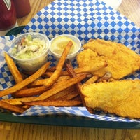 Photo taken at Lazy Joe's Fish & Chips by Cat H. on 10/1/2012