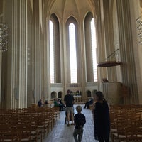 Photo taken at Grundtvigs Kirke by Morten P. on 8/21/2016
