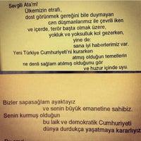 Photo taken at Özel Bilge Kız Yurdu by Esma Kartalice on 7/15/2014