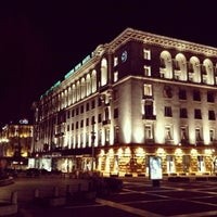 Photo taken at Sofia Hotel Balkan by ♛ Altuğ T. on 3/9/2013