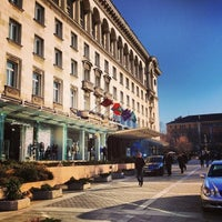 Photo taken at Sofia Hotel Balkan by ♛ Altuğ T. on 3/8/2013