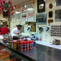 Photo taken at Hackenmueller's Meat Market by Steve W. on 12/8/2012