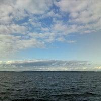 Photo taken at Пляж Сайнаволок by ArtDog13 on 8/30/2015