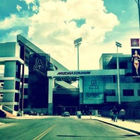 Photo taken at Arizona Stadium by Matthew T. on 7/22/2013