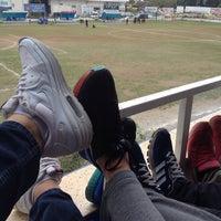 Photo taken at Camspor Spor Tesisleri by Ömer Faruk A. on 4/18/2015