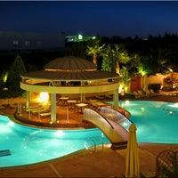 Photo taken at Ambassador Hotel Thessaloniki by John A. on 4/26/2014