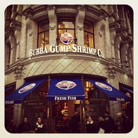 Photo taken at Bubba Gump Shrimp Co by Adam C. on 11/30/2014