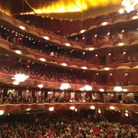 Photo taken at Metropolitan Opera by Beate G. on 10/4/2012