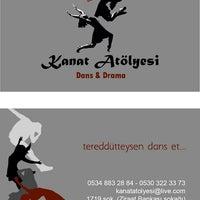 Photo taken at Kanat Atölyesi Dans Akademi by Kuzey Vedat K. on 10/9/2014
