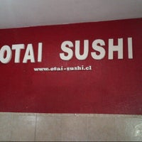 Photo taken at Otai Sushi by Gonzalo Ignacio V. on 9/30/2013