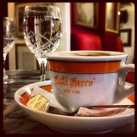 Photo taken at Antico Caffè Greco by Maria B. on 5/29/2013