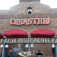 Photo taken at Disaster!: A Major Motion Picture Ride...Starring You! by Jason Y. on 6/1/2013