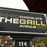 Photo taken at The Chocolate Avenue Grill by Alista L. on 10/27/2012