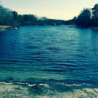 Photo taken at King's Pond by Joseph G. on 4/25/2014