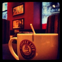 Photo taken at Coffee Life by Valera . on 1/4/2013