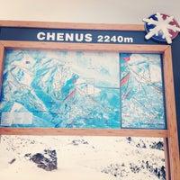 Photo taken at Piste du Chenus (2243m) by Erkan Ü. on 12/13/2014
