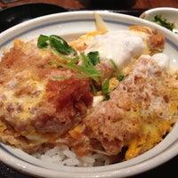 Photo taken at Tonkatsu Wako by Shuji K. on 8/20/2013