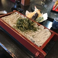 Photo taken at Suzakaya Soba by Shuji K. on 11/15/2017