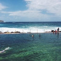 Photo taken at Bronte Beach Pool by Ross H. on 1/25/2014