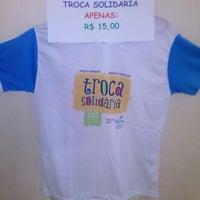 Photo taken at Centro de Solidariedade Padre Enzo Rizzo by Lucelia A. on 7/15/2014