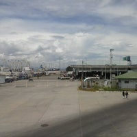 Photo taken at Fish Port Gensan by Marz B. on 5/24/2013
