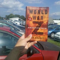 Photo taken at SUNY Orange library parking lot by James R. on 9/27/2012