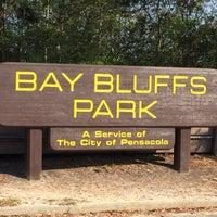 Photo taken at Bay Bluffs Park by Shahn-Ryan S. on 4/5/2016