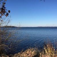 Photo taken at Howard M. Temin Lakeshore Path by Brett H. on 11/8/2015
