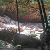 Photo taken at Hocking Hills State Park by April S. on 6/17/2017