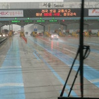 Photo taken at Seoul Toll Gate by Ordinary_angie on 9/17/2012