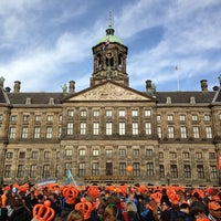 Photo taken at Dam Square by Henk B. on 4/30/2013