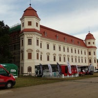 Photo taken at Zámek Holešov by Milan K. on 7/1/2017