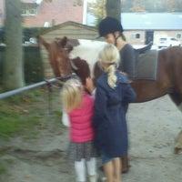 Photo taken at Twents Ruitercentrum Het Hulsbeek by Miranda B. on 10/22/2012