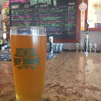 Photo taken at Hop Dogma Brewing Co. by Stephannie D. on 8/27/2017