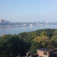 Photo taken at 425 Riverside Drive by Jie J. on 10/5/2013