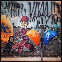 Photo taken at Rua Domingos de Morais by Matheus S. on 5/21/2013