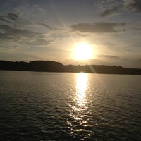 Photo taken at Bouy 66 West Point Lake by PI 3. on 8/9/2013