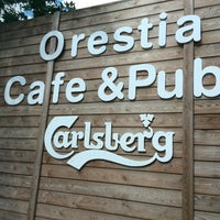 Photo taken at orestia cafe &pub by Nihal O. on 5/7/2014